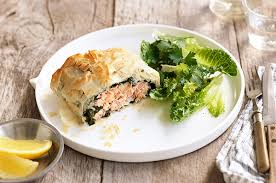 the ideas kitchen salmon and spinach filo parcels the ideas kitchen by panasonic