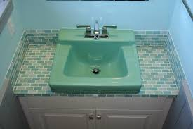 Bathroom Glass Tile Designs by Tile Glass Tile Bathroom Countertop Home Design Awesome Classy