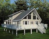 a frame house plans at familyhomeplans com