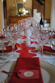 Valentine Dinner Table Decorations Valentine U0027s Dinner Party U2014 Flair For Home
