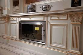 china italian modern classic solid wood kitchen cabinet photos