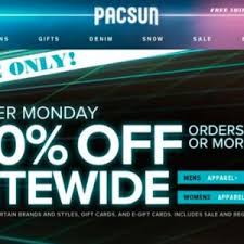 black friday pacsun pacsun emerging brands footwear driving growth