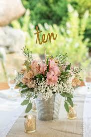burlap centerpiece wedding sweet centerpieces