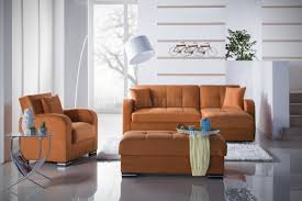 sectional sofa pictures sectional sofa bed in rainbow orange fabric by sunset