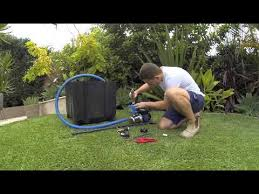 how to install a water pressure pump at home youtube