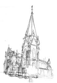 architectural sketches and renderings on mica portfolios