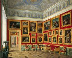 Italian Interiors File Hau Interiors Of The New Hermitage The Study Of Italian Art