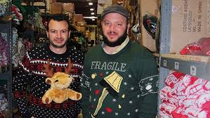 the two brothers a fortune in sweaters