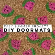 Summer Doormats Easy Summer Project Diy Doormats Tutorials And Cricut