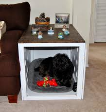 ana white diy dog crate end table diy projects