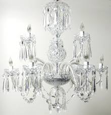 Crystal Parts For Chandeliers Vintage Replacement Crystal Parts Lamp Chandelier Spear Prism Art