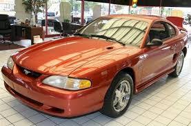 A Black Mustang 1997 Mustang Gt