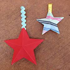christmas crafts to make with paper cheminee website
