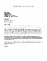 college student cover letter template simple cover letter template