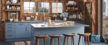 rustic blue gray kitchen cabinets 31 kitchen color ideas best kitchen paint color schemes