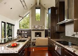 Espresso Kitchen Cabinets With Granite Seattle Espresso Kitchen Cabinets Transitional With Quartzite