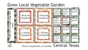 circular vegetable garden layout plans and spacing with raised bed