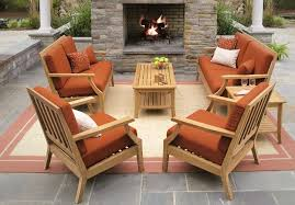 Patio Set With Reclining Chairs Design Ideas Attractive Teak Deck Furniture Outdoor To In Patio Chairs Prepare