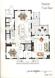 real estate watercolor 2d floor plans part 1 on behance design