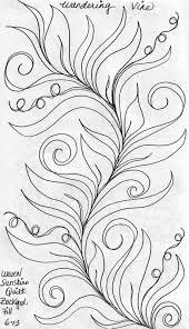 luann kessi sketch book wandering vine background fill