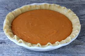 sweet potato thanksgiving recipe sweet potato sour cream pie the daring gourmet