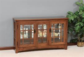 are curio cabinets out of style amish mission style large console curio cabinet consoles display