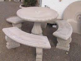 concrete table and benches price wonderful concrete table and benches price 1 concrete outdoor