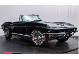 corvette stingray 1966 chevrolet corvette stingray for sale classiccars com cc