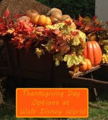 foodie friday thanksgiving day options at walt disney world