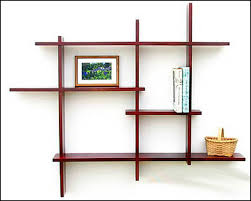 projects ideas wall mounted wooden shelves unique design shelf