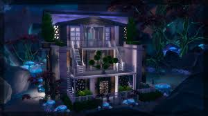 house lots the sims 4 house building bella goth u0027s secret lot youtube