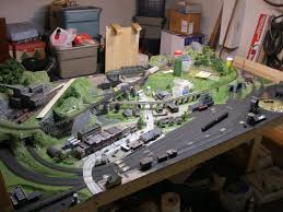 Model Train Table Plans Free by Model Railroad Table Plans Easy Furniture Projects