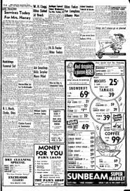 Abilene Reporter News From Abilene Texas On March 10 1955 by Abilene Reporter News From Abilene Texas On January 15 1962