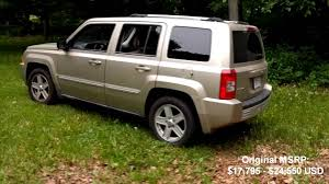 jeep patriot 2010 jeep patriot limited review youtube