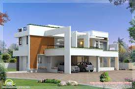 luxury contemporary villa design kerala home floor plans home