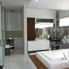 Designer Bathroom Wallpaper by Modern Master Bathroom