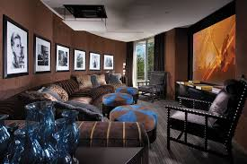 Sofa Movie Theater by Delightful Movie Theater Theme Home Theater Contemporary With