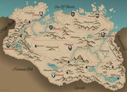 Skyrim Treasure Map Iv Skyrim Map Hd Jpg