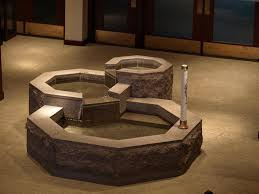 baptismal fonts baptismal fonts in catholic churches search skd