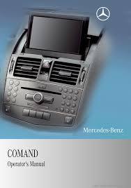 mercedes benz c class 2010 w204 comand manual