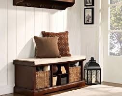 Upholstered Storage Bench Uk Bench Entryway Bench With Coat Rack 11 Contemporary Storage