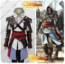 Assassin Creed Halloween Costume Assassin U0027s Creed 4 Iv Black Flag Edward Kenway Cosplay Costume