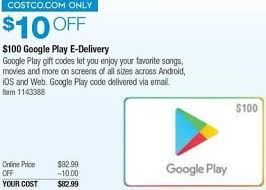 play gift card email delivery costco wholesale black friday 100 play gift card e