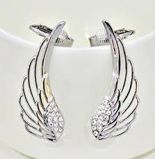 angel wing earrings cheap angel wing earrings silver find angel wing earrings silver