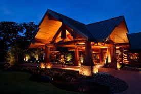 Log Cabin Outdoor Lighting Amazing Lighting