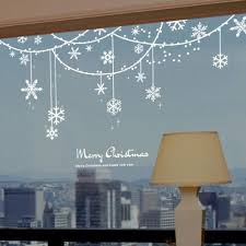 Funny Christmas Window Decorations by Best 25 Christmas Window Stickers Ideas On Pinterest Window