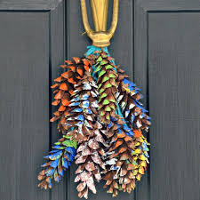 festive pine cone crafts perfect for the holiday season