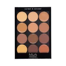 Makeup Mua mua professional correct conceal palette mua makeup