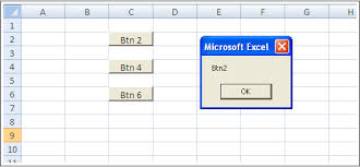 excel how to add a button programmatically in vba next to some