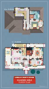 Detailed Floor Plan 8 Extremely Detailed Floor Plans Of Iconic Tv Show Homes U2013 The